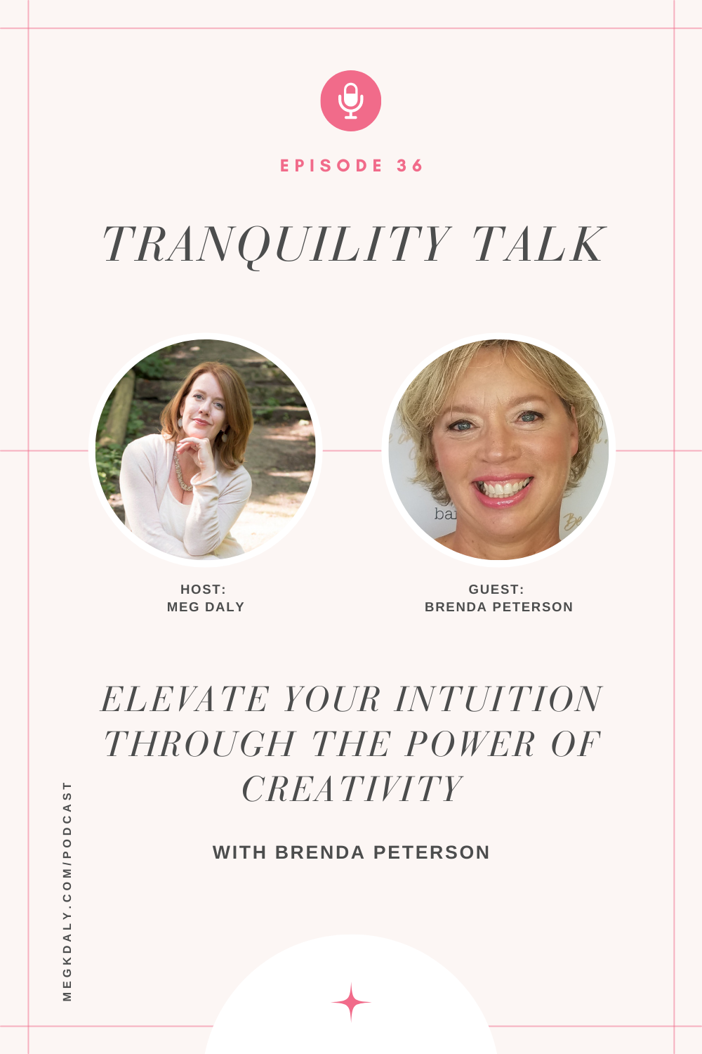 Tranquility Talk: Elevate your intuition through the power of creativity with Brenda Peterson
